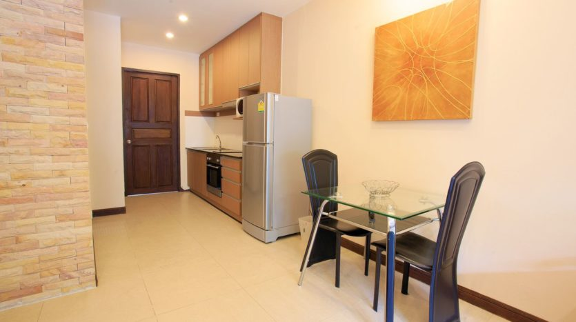 Condo Kitchenette and Dining Table