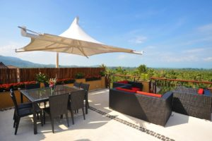 Villa Outdoor Terrace